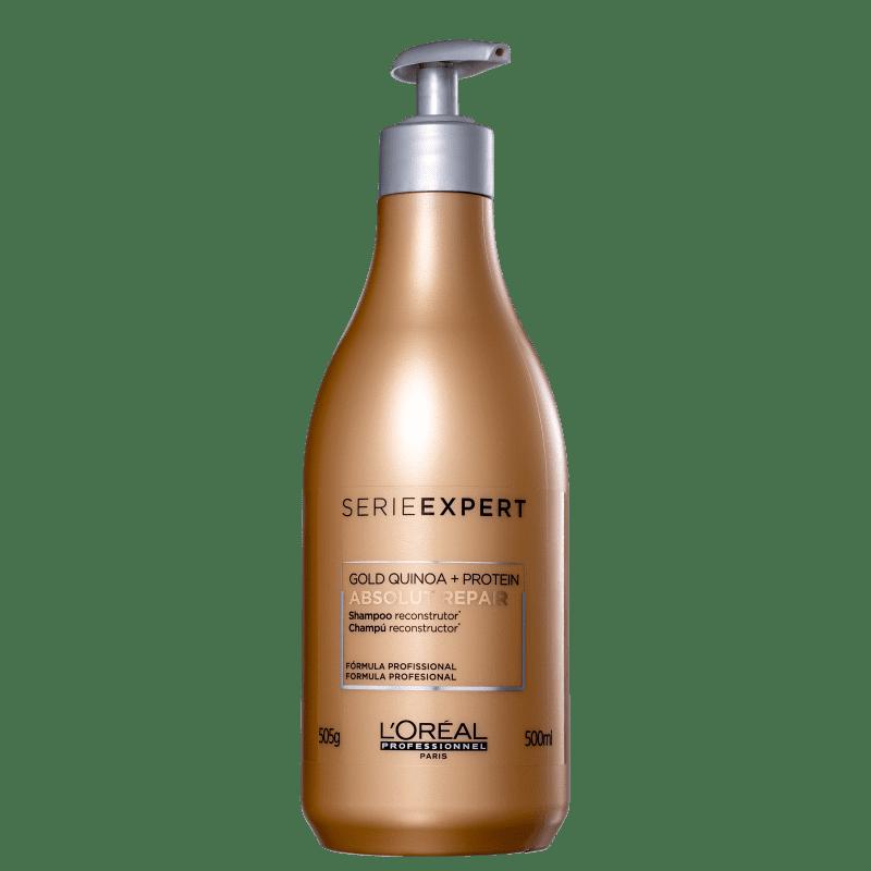 Shampoo Absolut Repair Gold Quinoa 500ml Loreal