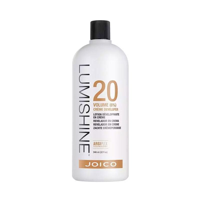 Joico Agua oxigenada Lumishine Creme Developer 20 Vol 6% 946 ml
