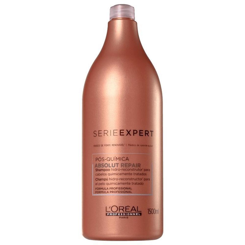 Shampoo Absolut Repair Pós Química 1,5 Litro Loreal