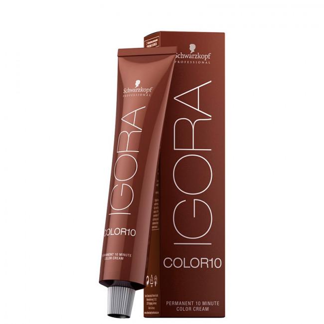 Coloração Igora Color 10 7-1 Louro Médio Natural Cinza 60ml Schwarzkopf