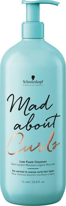 Shampoo Mad About Cachos  Espuma Red 1 Litro Schwarzkopf