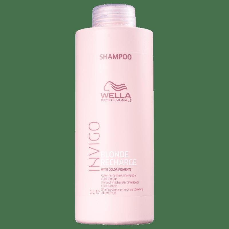Shampoo Wella Violeta Cool Blond Invigo 1 Litro