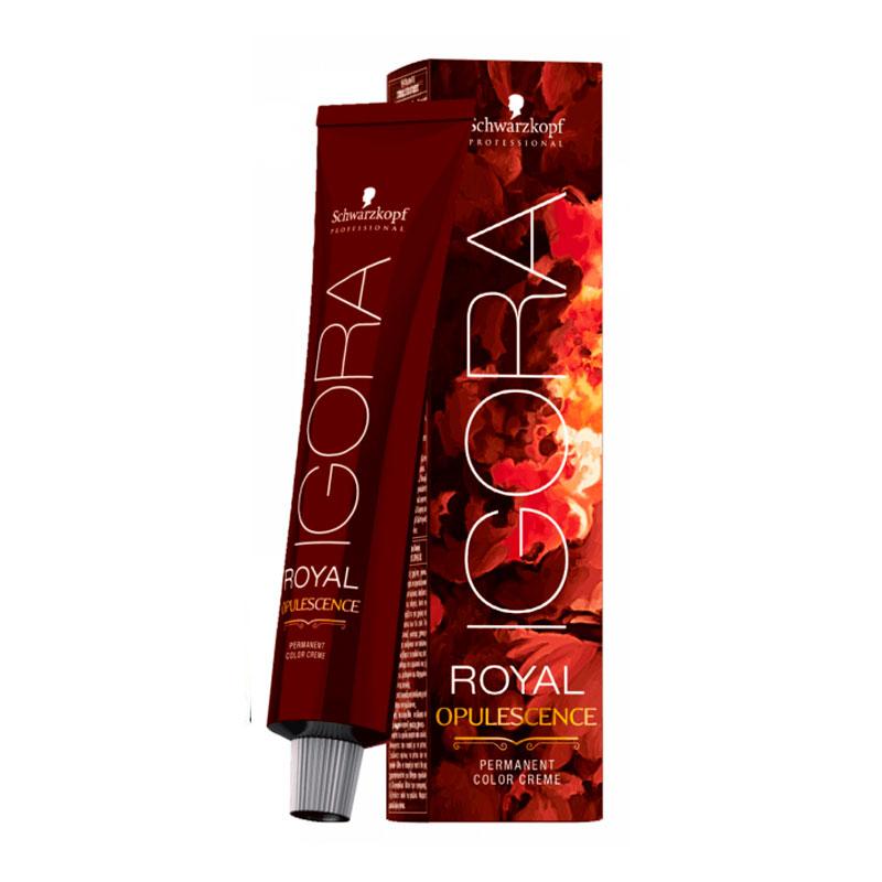 Coloração Igora Royal Ir 0 7-48 Louro Médio Bege Vermelho Feshion 60ml Schwarzkopf