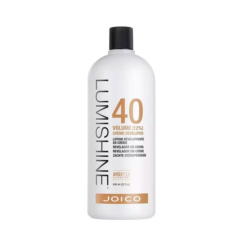 Joico Agua oxigenada Lumishine Creme Developer 40 Vol 12% 946 ml
