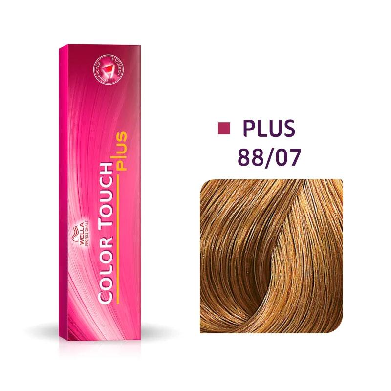 Coloração Wella Louro Claro Intenso Natural Marrom 88/07 - 60 G