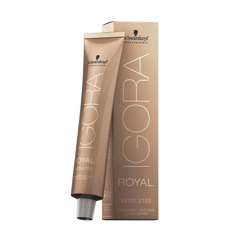 Coloração Igora Royal Absolutes-Ira 9-60 Louro Extra Claro Marrom Natural  60ml Schwarzkopf