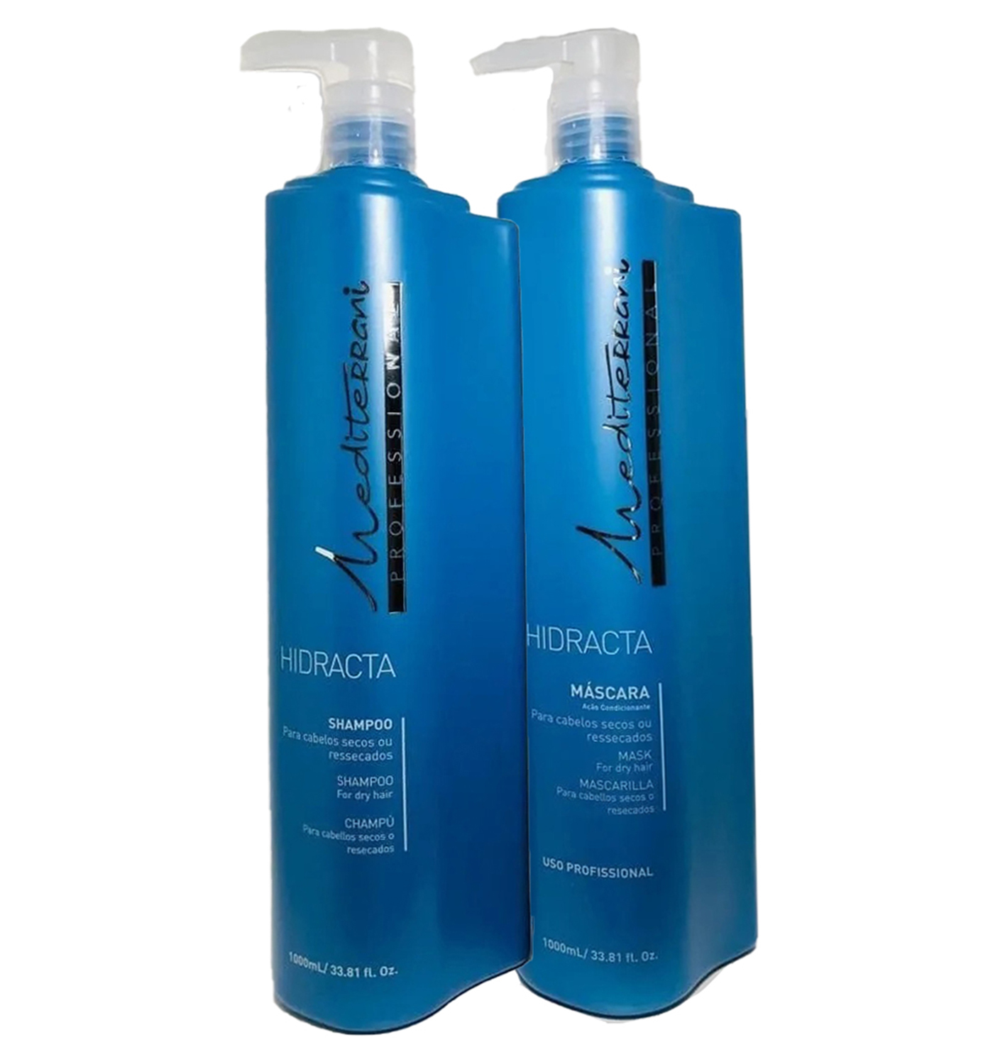 Kit Hidracta Professional Shampoo e Máscara 1L