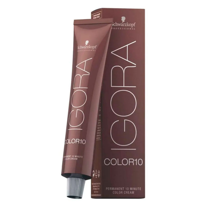 Coloração Igora Color 10 7-12 Louro Meio Cinza Fume 60ml Schwarzkopf