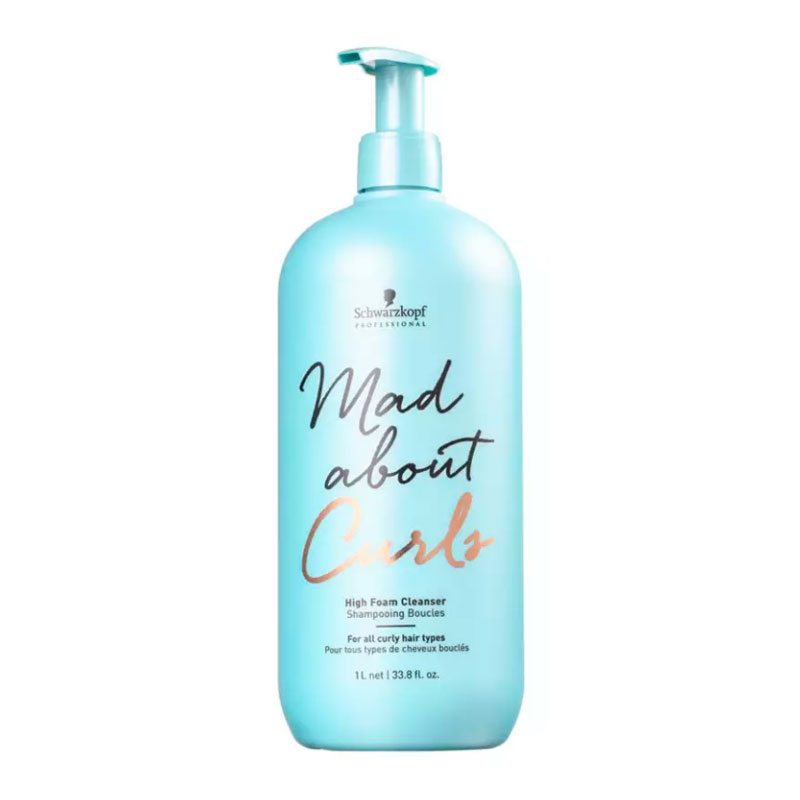 Shampoo Mad About Cachos Extra - Espuma Litro Schwarzkopf