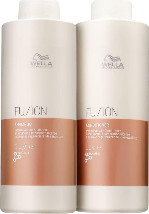 Kit Wella Professionals Fusion Salon Duo (2 Produtos)