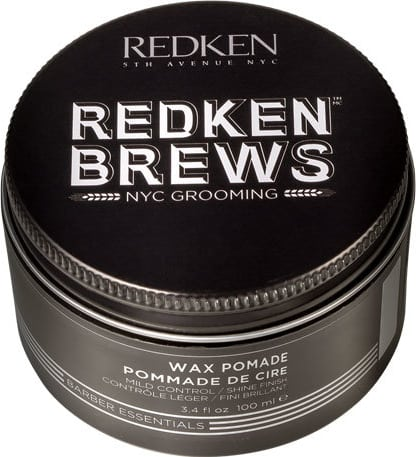 Brews Wax Pomade Controle Leve 100ml Redken