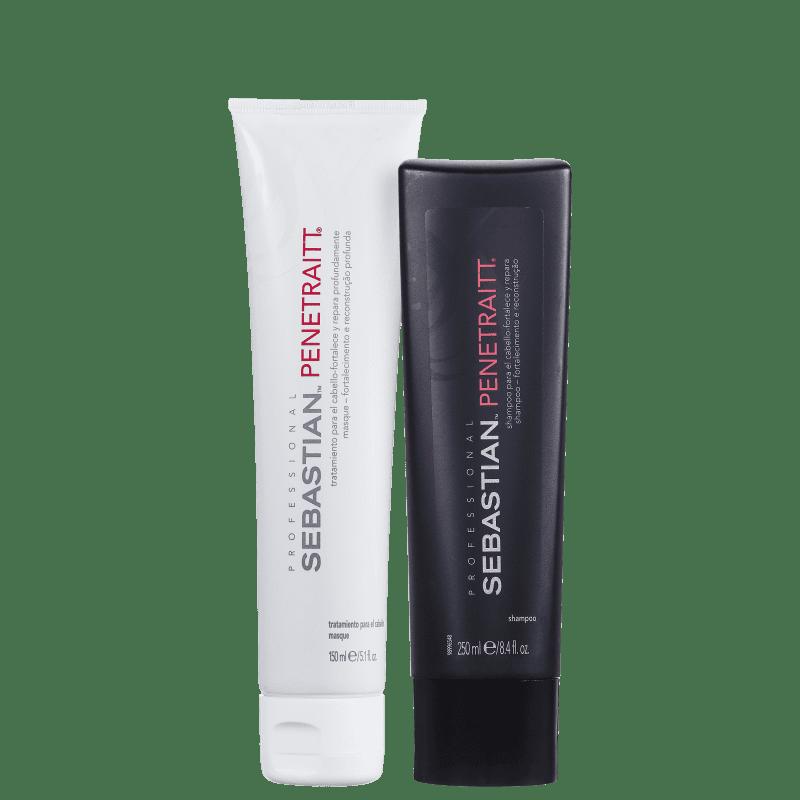 Kit Sebastian Penetraitt  para cabelos danificados duo (2 produtos)