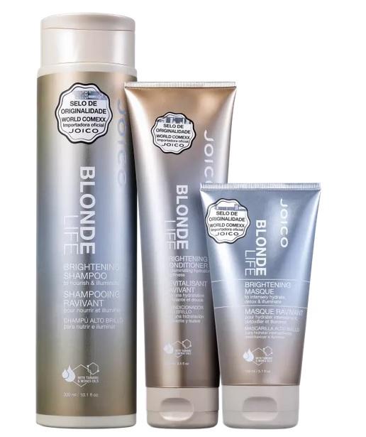 Kit Joico Blonde Life Brightening Trio (3 Produtos)