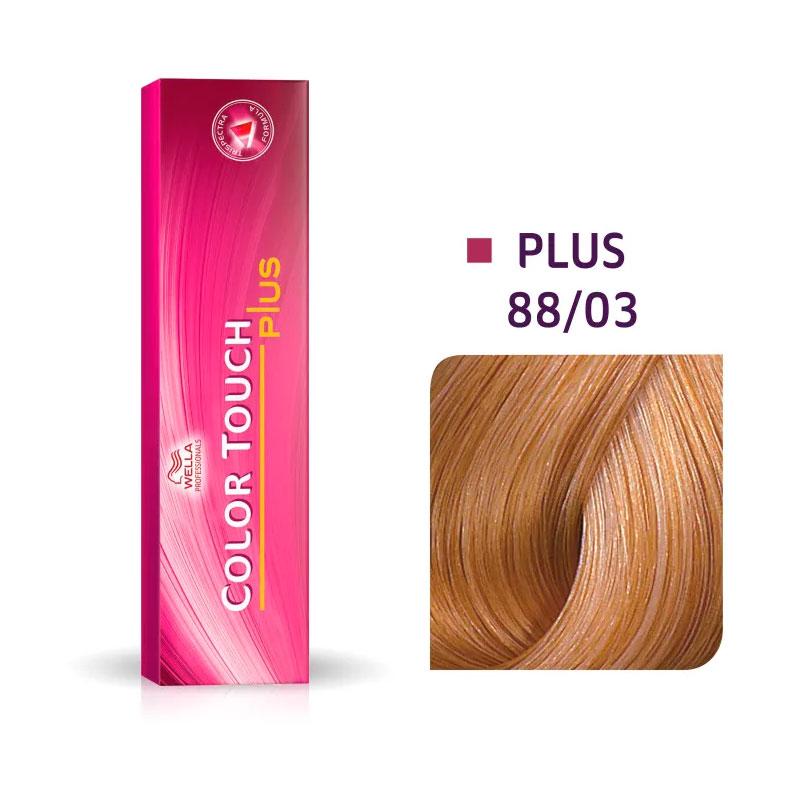 Coloração Wella Louro Claro Intenso Natural Dourado 88/03 - 60 G