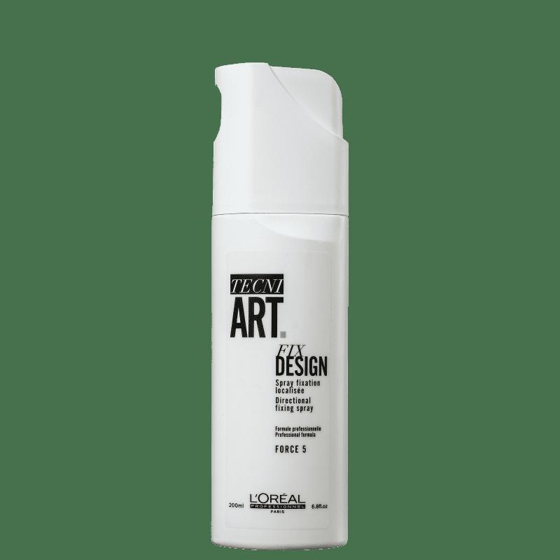 Finalizador Spray Tecni Art Fix Design 200ml Loreal