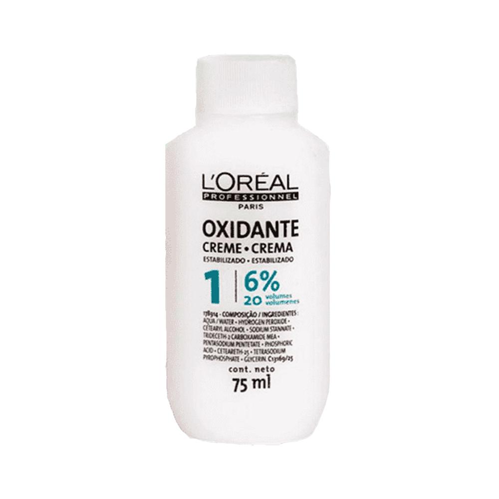 Agua Oxigenada Creme 20 Vol. 75Ml Loreal