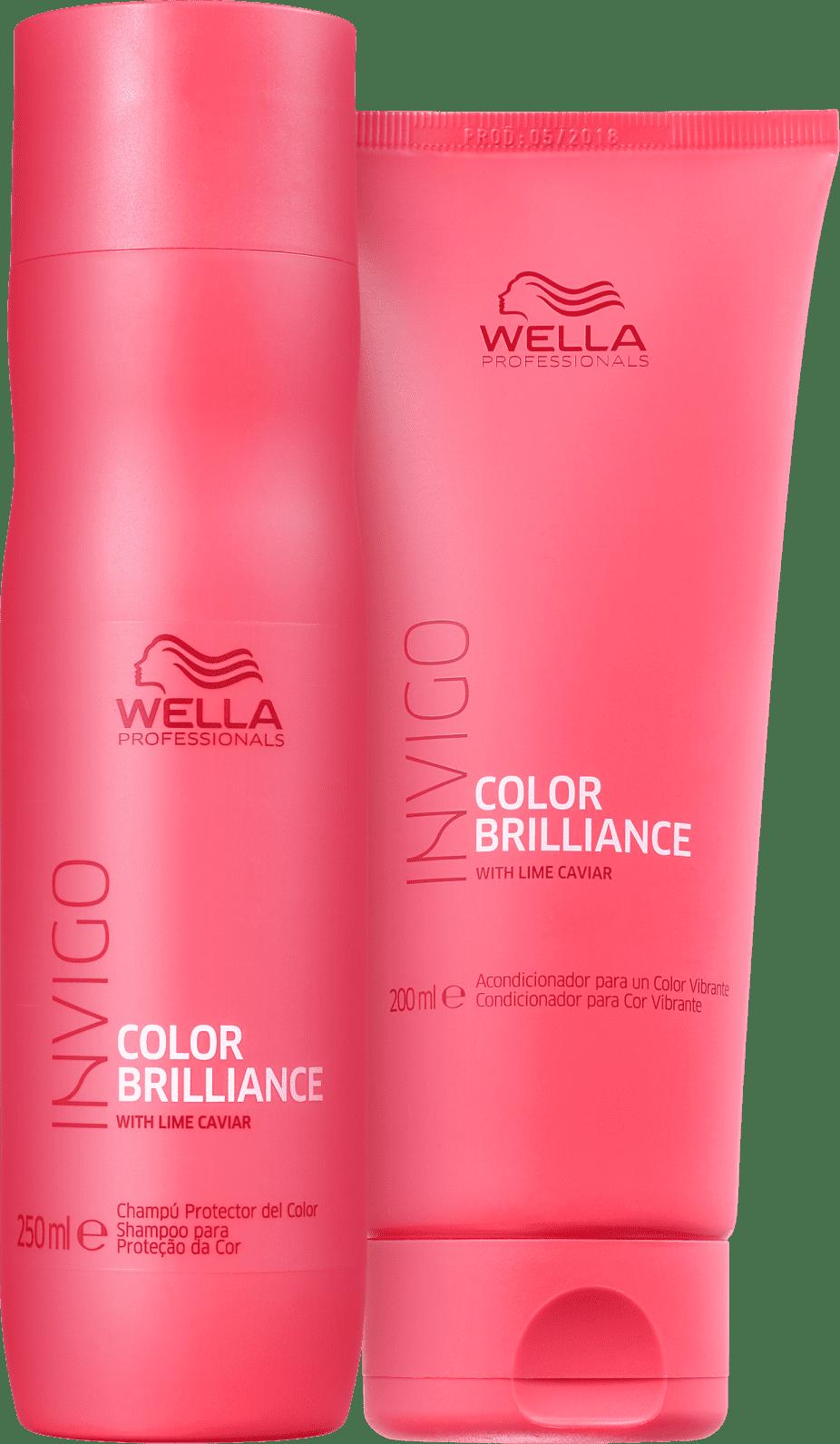 Kit Wella Professionals Invigo Color Brilliance Duo (2 Produtos)