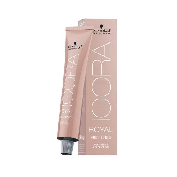 Coloração Igora Royal Nude-Irn 4-46 Castanho Médio Bege Marrom 60ml Schwarzkopf