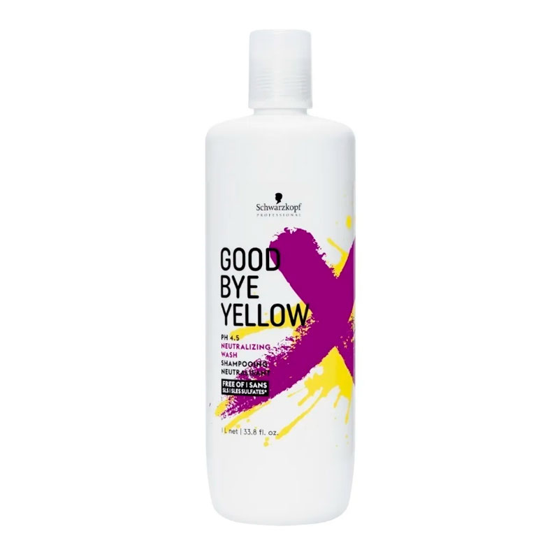 Shampoo Gby - Anti Amarelo Neutralizante 1 Litro Schwarzkopf