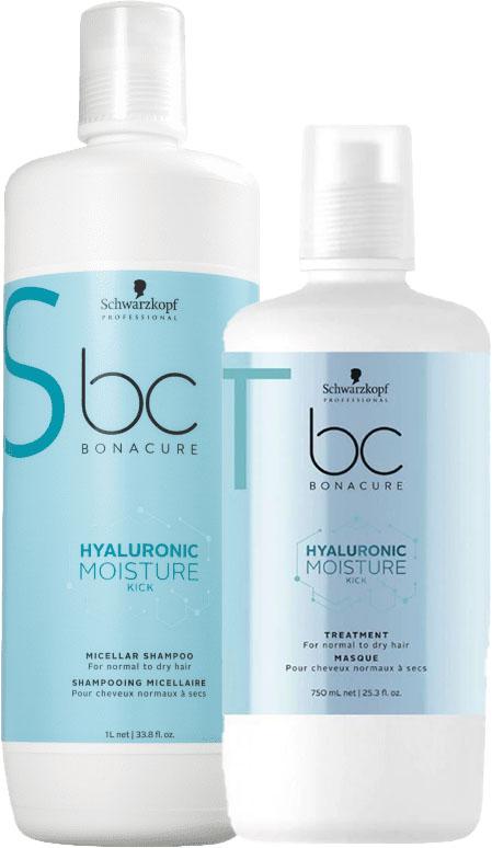 Kit Schwarzkopf Professional BC Bonacure Hyaluronic Duo (2 produtos)