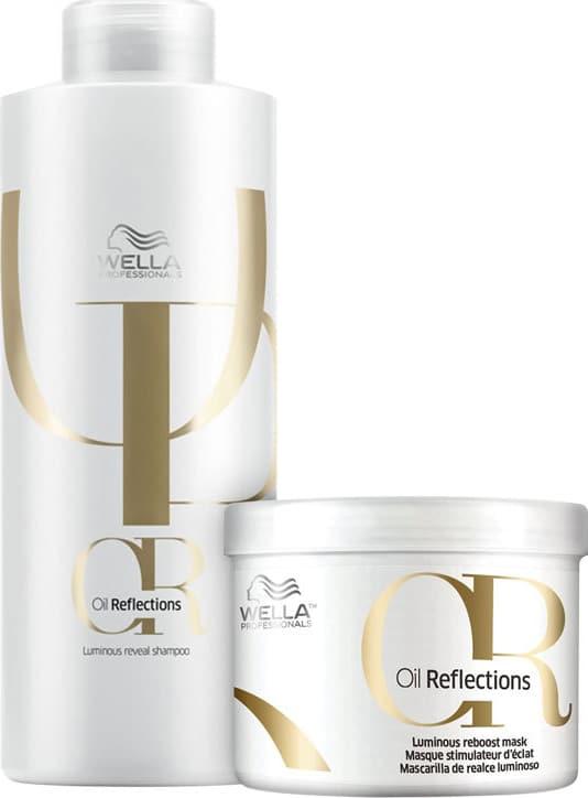 Kit Wella Professionals Oil Reflections Duo Salão (2 Produtos)