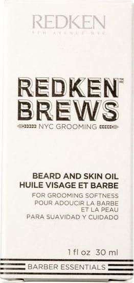Brews Beard And Skin - Barba E Pele Oil 30ml Redken