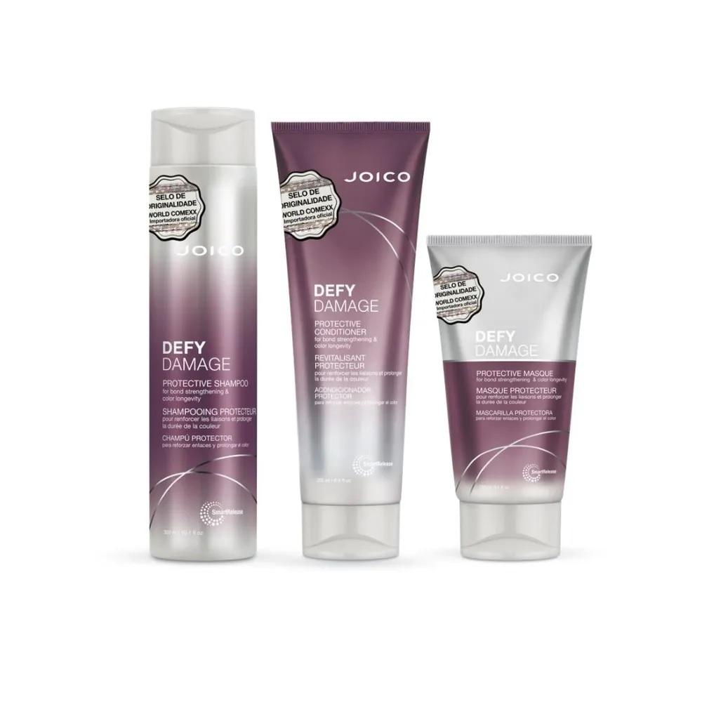 Kit Defy Damage Pequeno (Shampoo + Condicionador + Máscara)