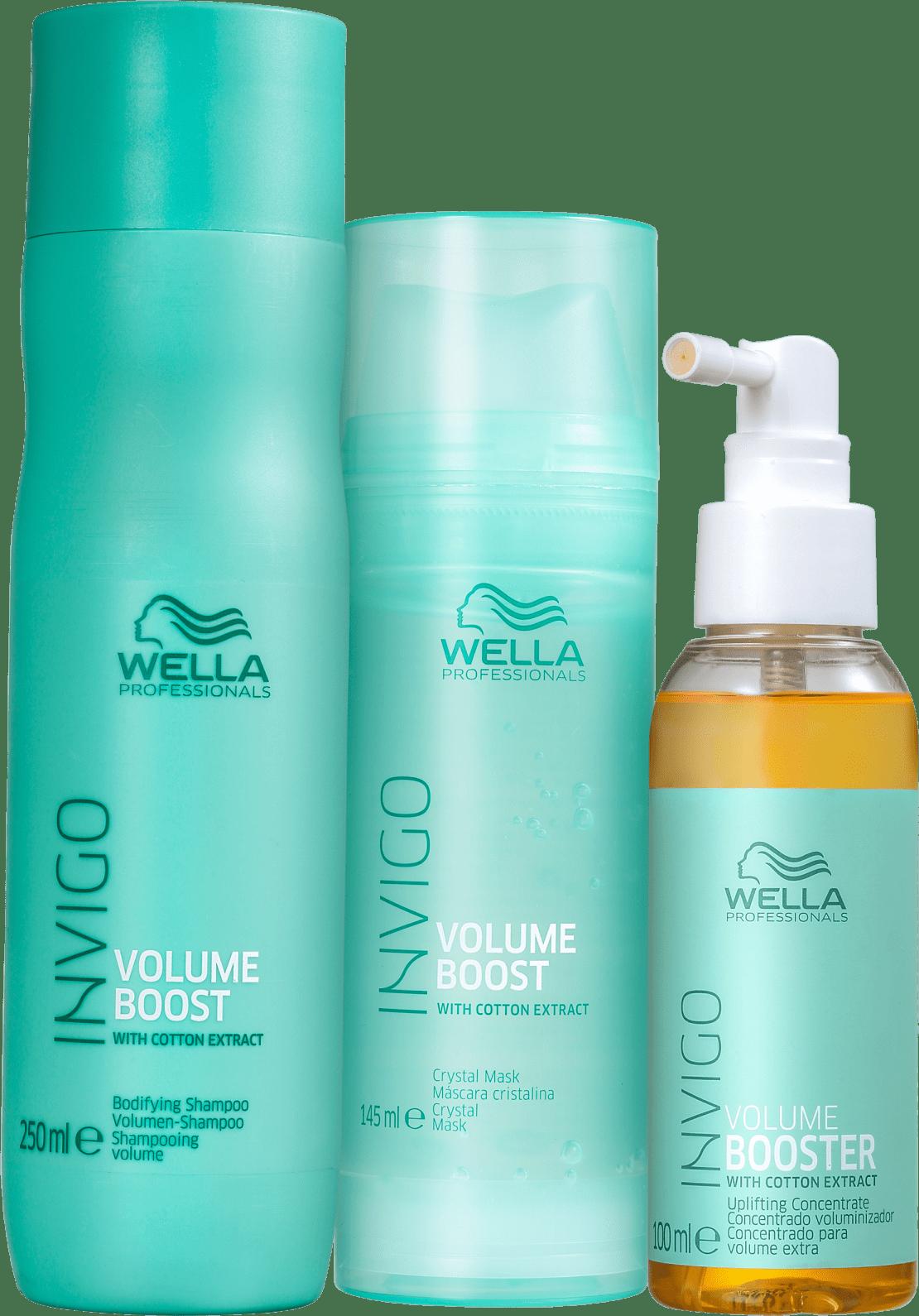 Kit Wella Professionals Invigo Volume Boost Trio (3 Produtos)