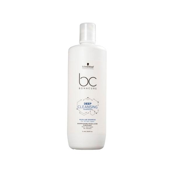 Shampoo Bonacure Deep Cleansing (Limpeza Profunda) 1 Litro Schwarzkopf