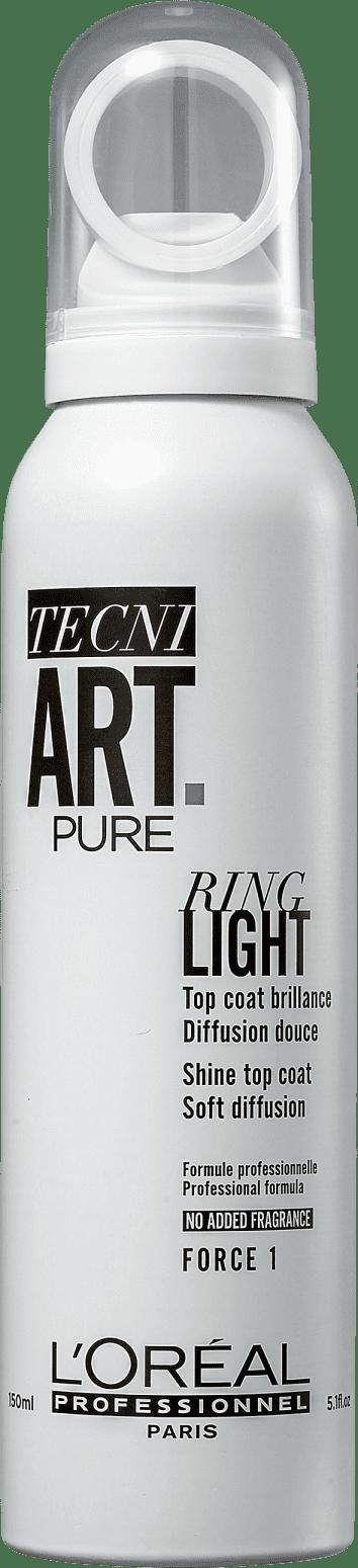 Finalizador Spray De Brilho Tecni Art Ring Light 150ml Lorea