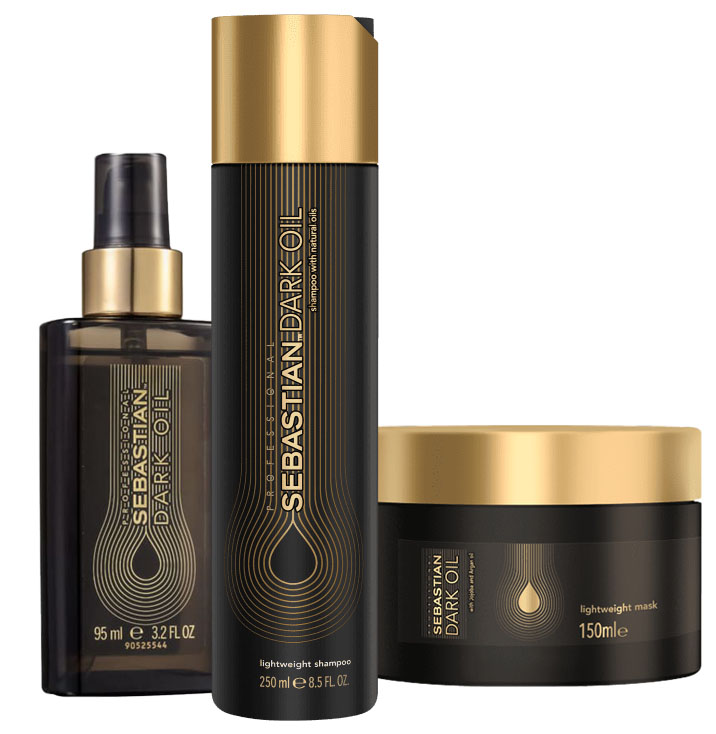 Kit Sebastian Professional Dark Oil Home Care (3 Produtos)