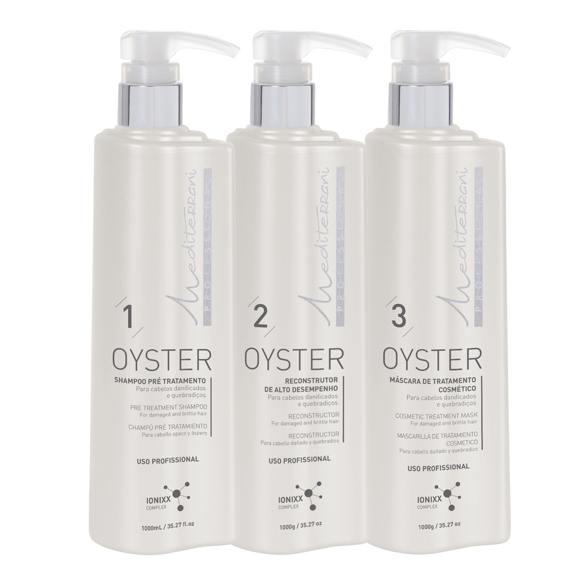Kit Oyster Professional Reconstructor