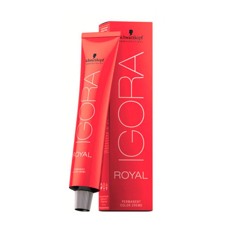 Coloração Igora Royal 7-1 Louro Médio Natural Cinza 60ml Schwarzkopf